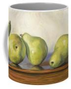 Anjou Pears Coffee Mug by Lucie Bilodeau