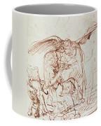 Annunciation  Coffee Mug by Rembrandt Harmenszoon van Rijn