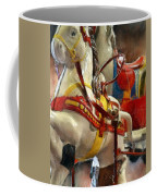 Antique Horse Cart Coffee Mug by Michelle Calkins