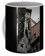 Antique Ironwork Wood And Rustic Walls Coffee Mug by RicardMN Photography