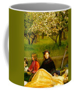Apple Blossoms Coffee Mug by John Everette Millais