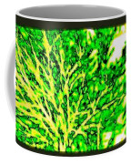 Arbres Verts Coffee Mug by Will Borden