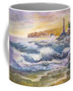 Atlantic Agitation Coffee Mug by Mohamed Hirji