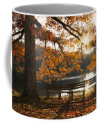 Autumn Beauty Coffee Mug by Debra and Dave Vanderlaan