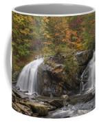 Autumn Cascades Coffee Mug by Debra and Dave Vanderlaan