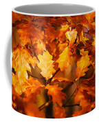 Autumn Leaves Oil Coffee Mug by Steve Harrington