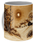 Autumn Snow Coffee Mug by Barbara Griffin