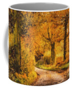 Autumn Trees Coffee Mug by Pixel Chimp