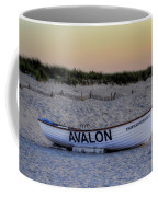Avalon Lifeboat Coffee Mug by Bill Cannon