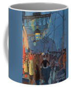 Avenue De Clichy Paris Coffee Mug by Louis Anquetin