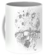 Bacteriophage Ballet Coffee Mug by Regina Valluzzi