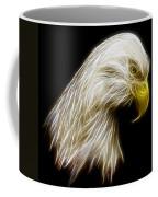 Bald Eagle Fractal Coffee Mug by Adam Romanowicz