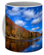 Bald Mountain Pond In Autumn Coffee Mug by David Patterson