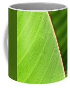 Banana Leaf Coffee Mug by Heiko Koehrer-Wagner