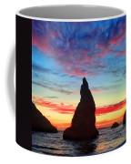 Bandon Clouds Coffee Mug by Darren  White