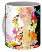Barack And Michelle  Coffee Mug by Daniel Janda