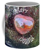 Barack Obama Mars Coffee Mug by Augusta Stylianou