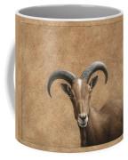 Barbary Ram Coffee Mug by James W Johnson