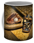 Baseball Play Ball Coffee Mug by Paul Ward