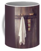 Bathroom Wall Coffee Mug by Amanda Elwell