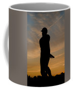 Batter At Dawn - Phillies Coffee Mug by Bill Cannon