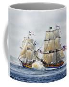 Battle Sail Coffee Mug by James Williamson