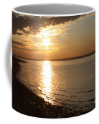 Bayville Sunset Coffee Mug by John Telfer