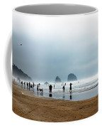 Beach Fun At Ecola  Coffee Mug by Robert Bales