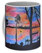 Beach Silhouette Coffee Mug by Sonali Gangane