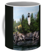 Bear Island Lighthouse Coffee Mug by Jack Skinner