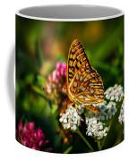 Beautiful Butterfly Coffee Mug by Robert Bales