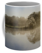Beautiful Misty River Sunrise Coffee Mug by Christina Rollo