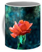 Beautiful Red Rose Coffee Mug by Robert Bales