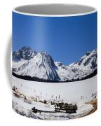 Beautiful Sawtooth Mountains Coffee Mug by Robert Bales