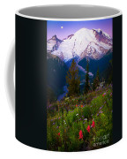 Before Dawn At Mount Rainier Coffee Mug by Inge Johnsson