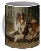 Best Of Friends Coffee Mug by Wilhelm Schwar