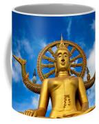 Big Buddha Coffee Mug by Adrian Evans