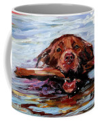 Big Stick Coffee Mug by Molly Poole