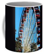 Big Wheel Coffee Mug by Kaye Menner