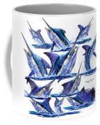Bill Heads Coffee Mug by Carey Chen