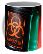 Biohazard Coffee Mug by Olivier Le Queinec