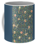 Bird And Pomegranate Coffee Mug by William Morris