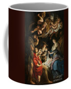 Birth Of Christ Adoration Of The Shepherds Coffee Mug by Peter Paul Rubens