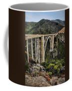 Bixby Creek Bridge Coffee Mug by Heather Applegate