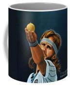 Bjorn Borg Coffee Mug by Paul Meijering