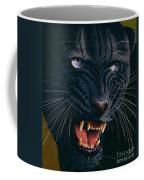 Black Panther 2 Coffee Mug by Jurek Zamoyski