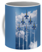 Blue Angels Coffee Mug by J Biggadike