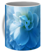 Blue Begonia Flower Coffee Mug by Jennie Marie Schell