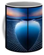 Blue Hour Diptych Coffee Mug by Adrian Evans
