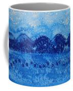 Blue Ridge Original Painting Coffee Mug by Sol Luckman